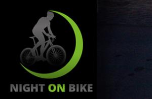 night on bike