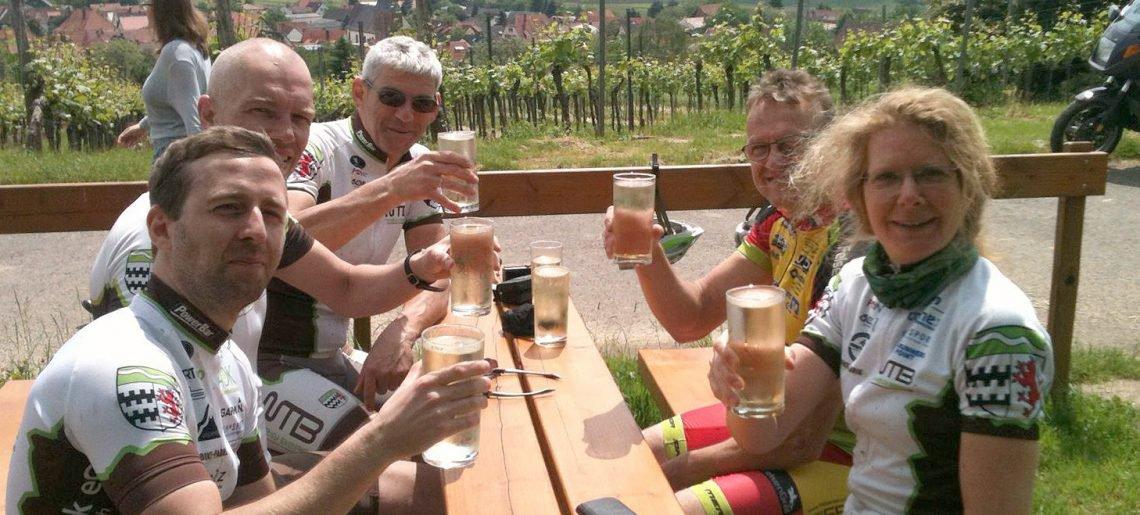 Bike-Wochenende in Bundenthal: Ach, war das wieder schön!!